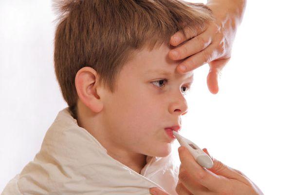 Болно дете - противопоказание за имунизация.