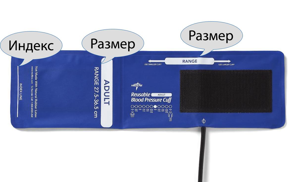 Маншет на апарат за измерване на кръвно налягане