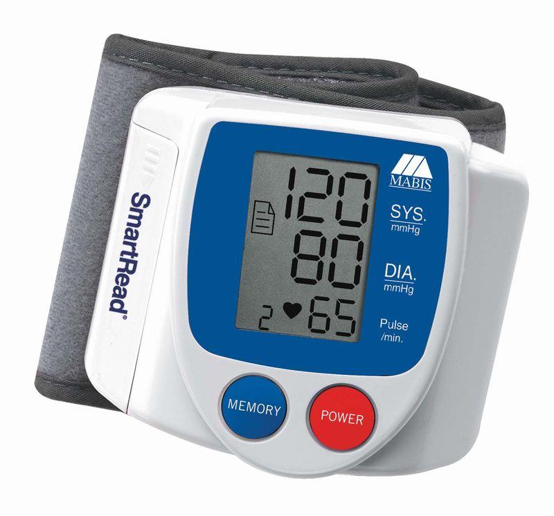 Електронен апарат за измерване на кръвното налягане на китката.