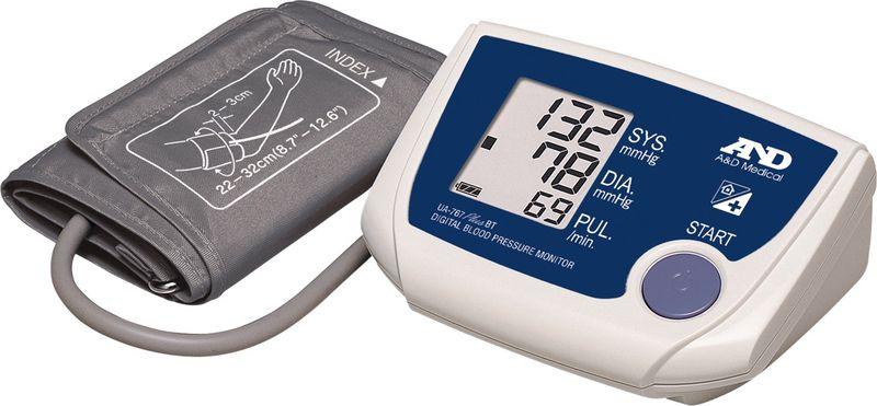 Електронен апарат за измерване на кръвното налягане на мишницата.