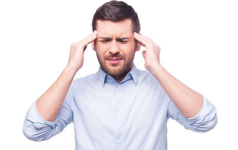 Главоболието е симптом на високото кръвно налягане, но не е толкова често.