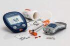 Нормални и високи стойности на кръвната захар при измерване.